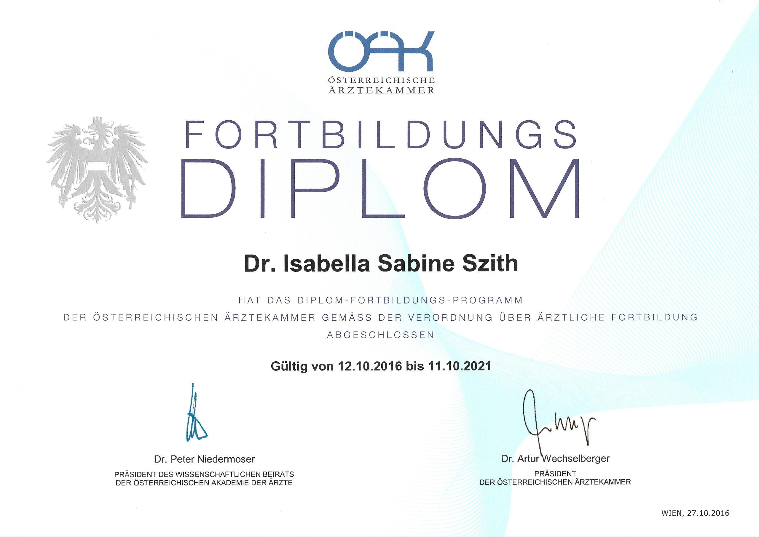 DFP Diplom